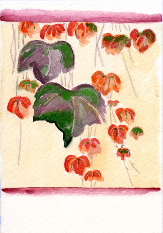 Autumn Ivy Ogata Kenzan (Japanese, 1663–1743)