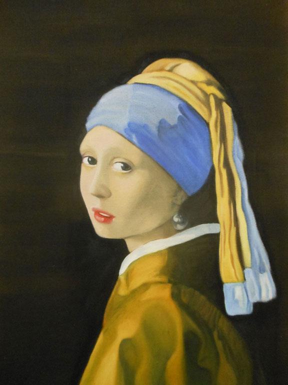 Girl with a Pearl Earring - Jan Vermeer