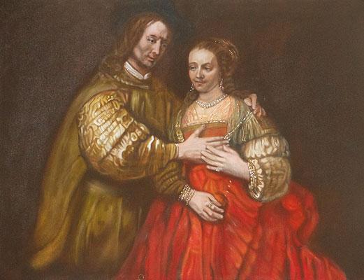 Rembrandt-TheJewishBride