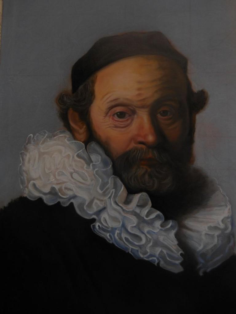 Portrait of Johannes Wtenbogaert after Rembrandt