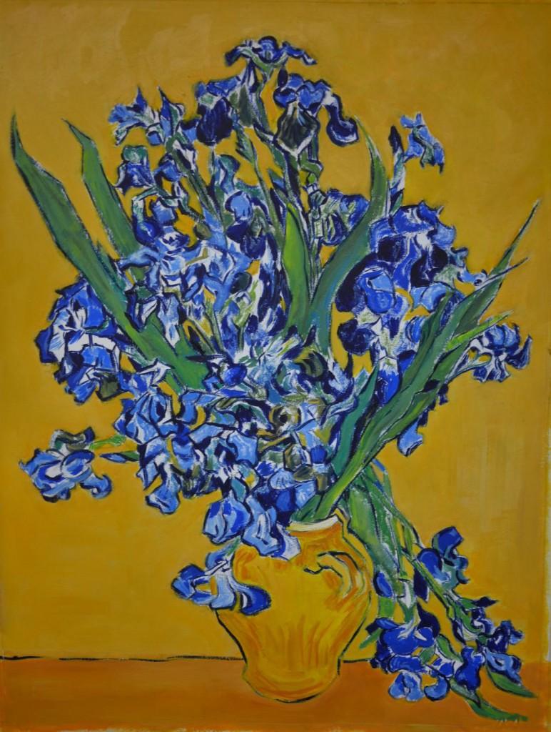 Irises apres Van Gogh